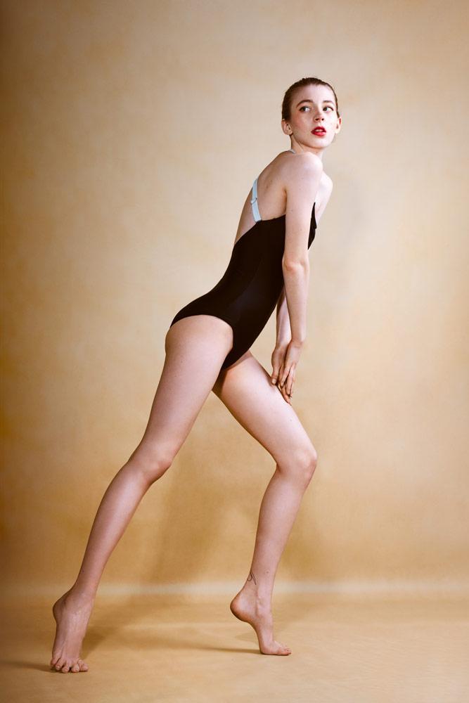 PLOVE — dámské jednodílné plavky — černé
