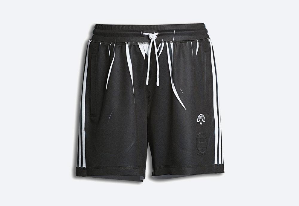 adidas Originals by Alexander Wang — sportovní šortky — černé — pánské, dámské