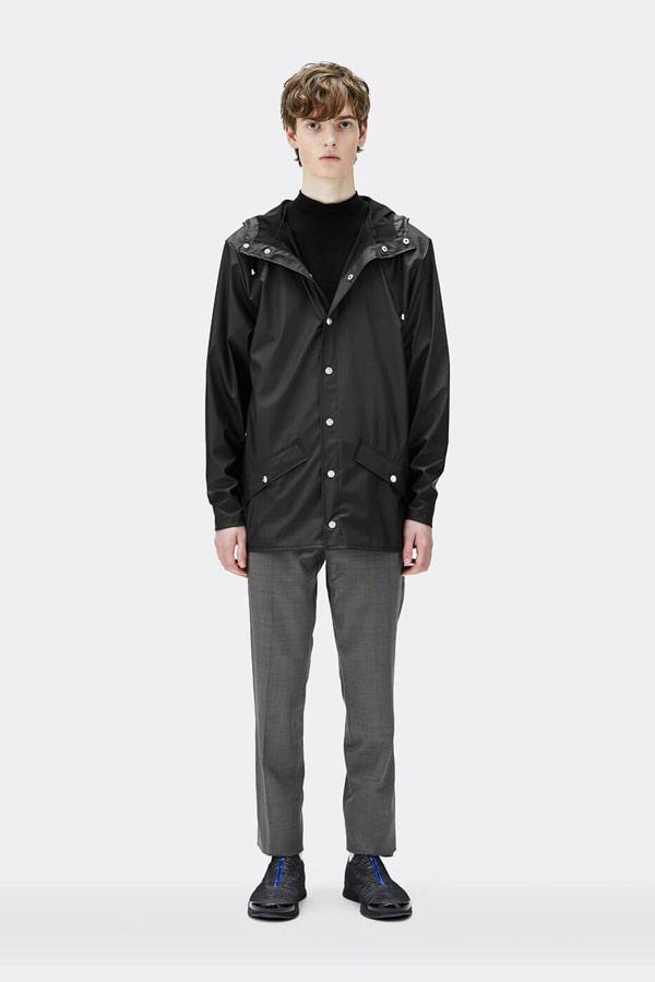 Rains — pánská nepromokavá bunda s kapucí — mens rain jacket — Expressions
