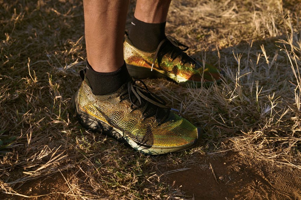 Nike Zoom Vaporfly 4% Flyprint — běžecké boty — dámské, pánské — 3D tisk