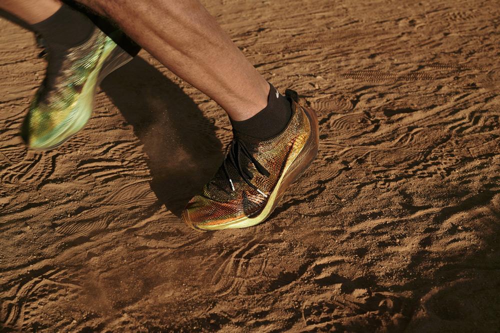 Nike Zoom Vaporfly 4% Flyprint — běžecké boty — pánské, dámské — 3D tisk