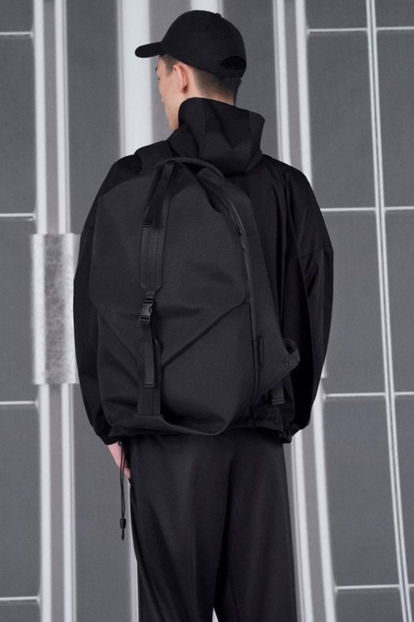 Côte&Ciel — batoh — Oril Large — černý — luxusní — sustainable