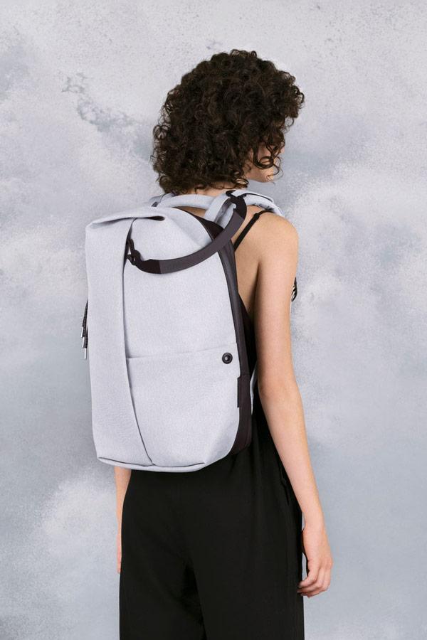 Côte&Ciel — batoh — Sormonne — šedý — luxusní — sustainable
