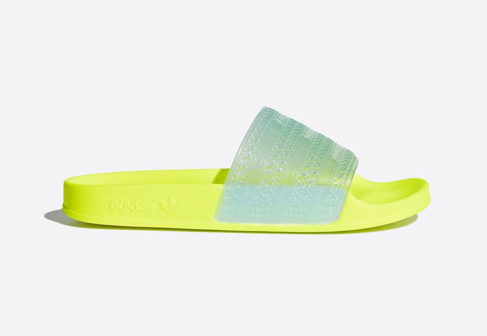 adidas Originals Adilette Lilo — dámské pantofle — letní nazouváky — křiklavé — womens slides