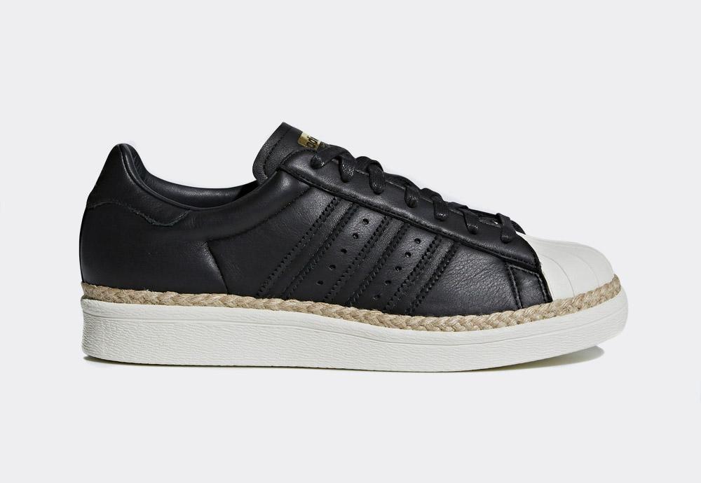 adidas Originals Superstar 80s New Bold — boty — dámské — tenisky — na platformě