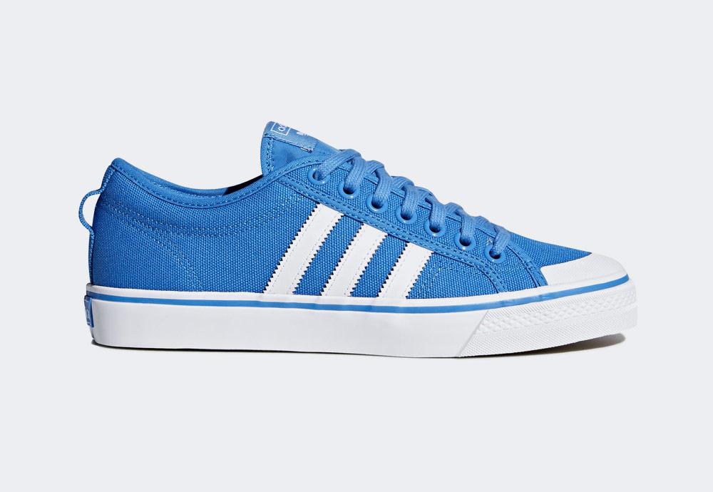 adidas Originals Nizza — tenisky — kecky — modré — pánské — boty — sneakers 8a2b9bcb90