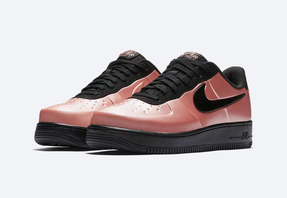 Nike Air Force 1 Foamposite Pro Cup — boty — pánské — oranžovo-růžové — sneakers — nepromokavé