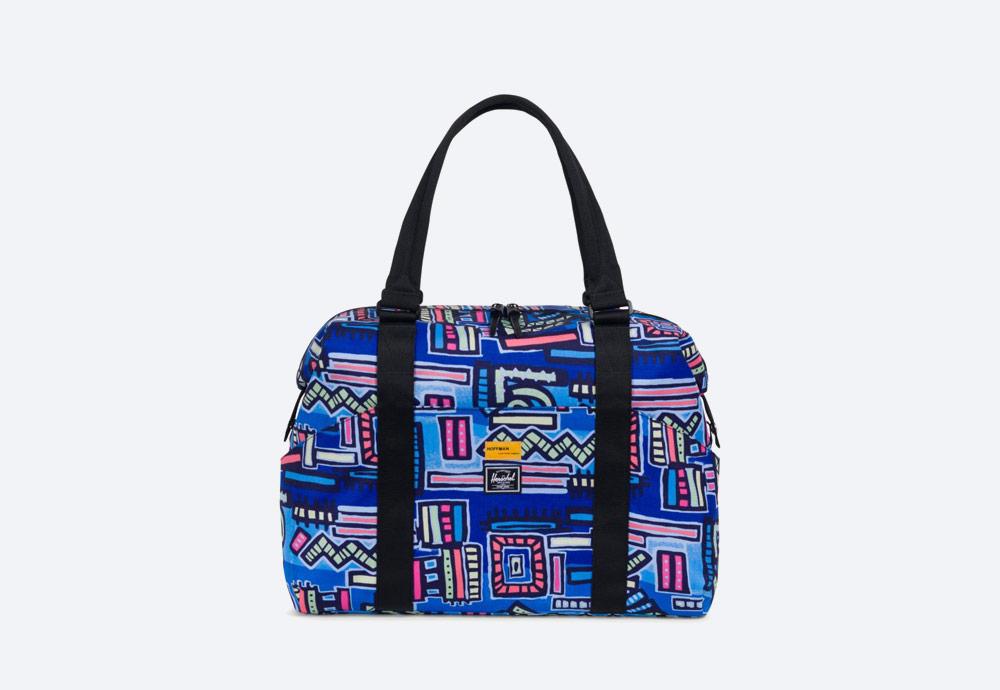 Herschel Supply x Hoffman — barevná taška se vzorem — Strand Duffle