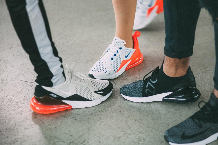 Nike Air Max 270 Flyknit — boty — tenisky — sneakers — lookbook
