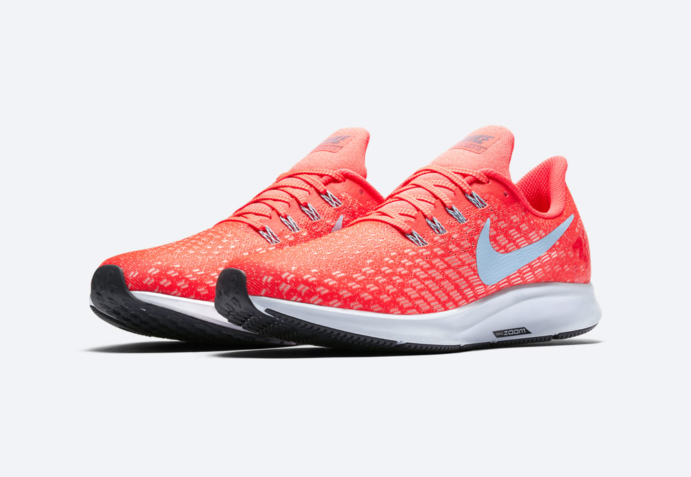 Nike Air Zoom Pegasus 35 — běžecké boty — pánské — oranžové — running shoes