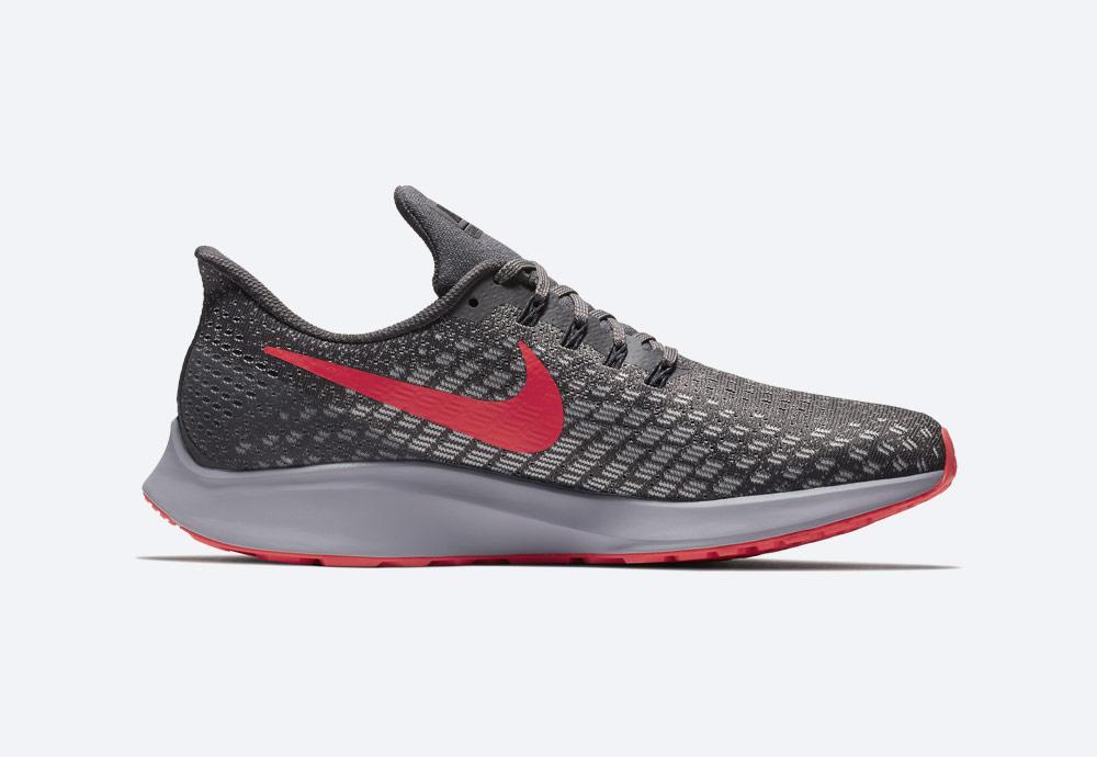 Nike Air Zoom Pegasus 35 — běžecké boty — pánské — šedé — running shoes