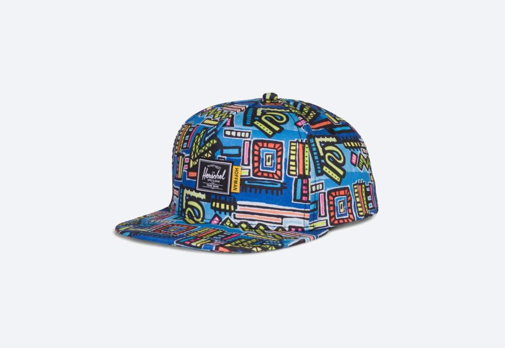 Herschel Supply x Hoffman — barevný letní klobouk — rybářský — Lake bucket Hat