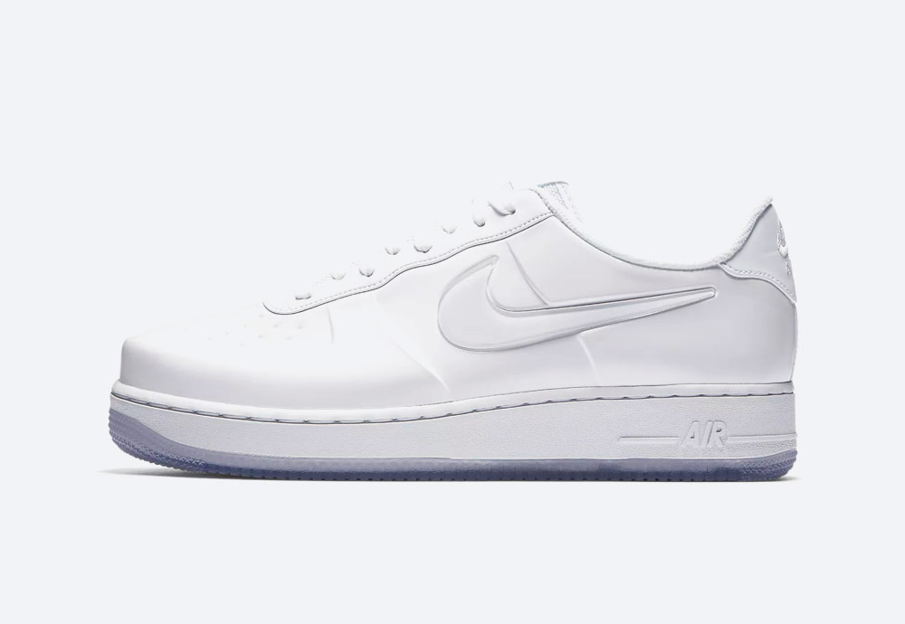 Nike Air Force 1 Foamposite Pro Cup — boty — pánské — bílé — sneakers — nepromokavé