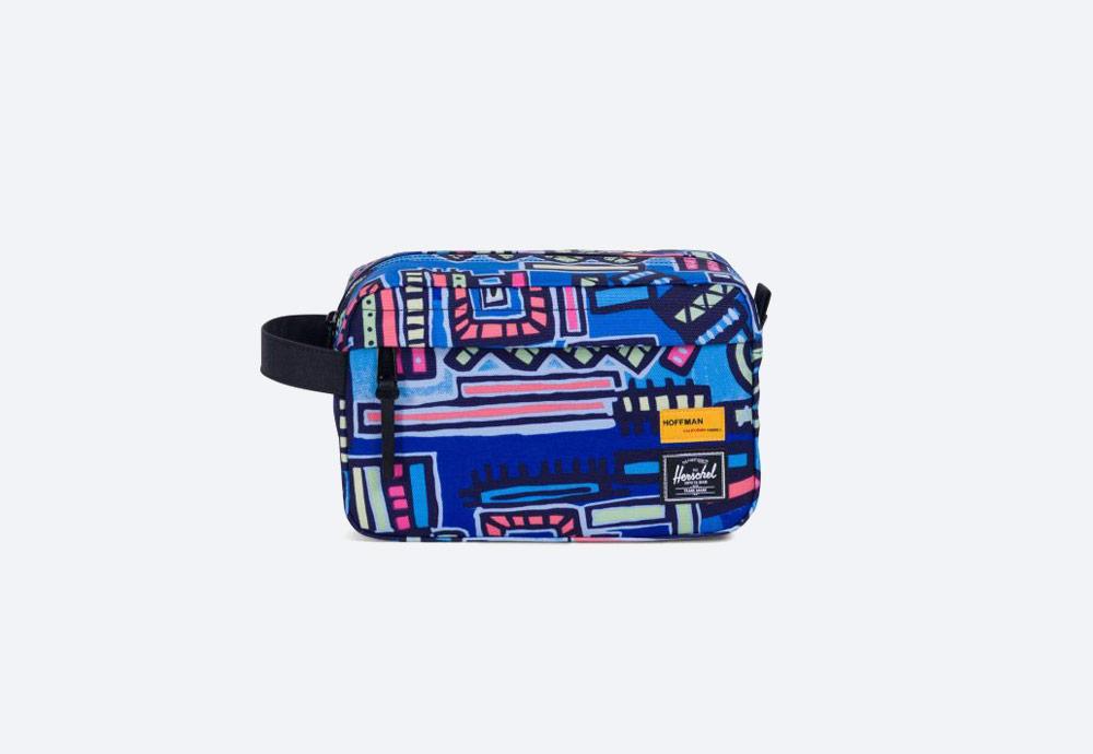 Herschel Supply x Hoffman — barevná toaletní taška — Chapter Travel kit