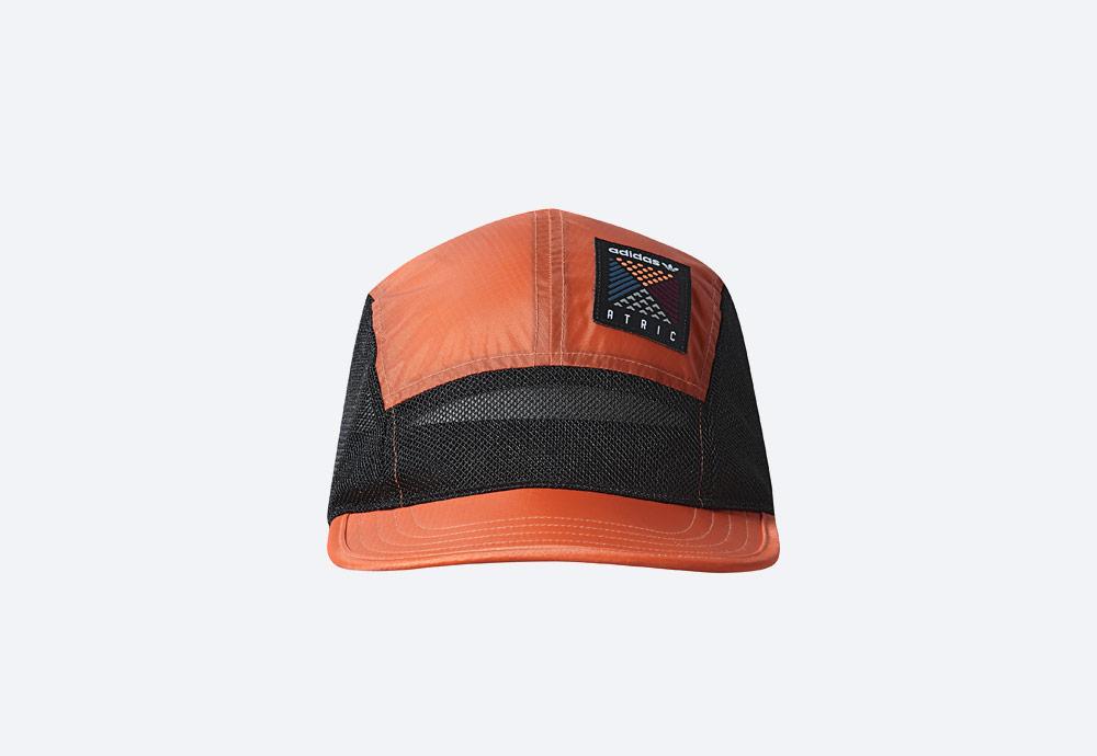 adidas Originals Atric Five Panel Cap — kšiltovka — oranžová, černá