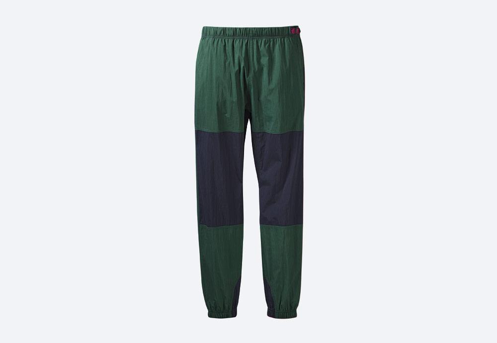 adidas Originals Atric Pants — sportovní šusťákové tepláky — joggers — zelené