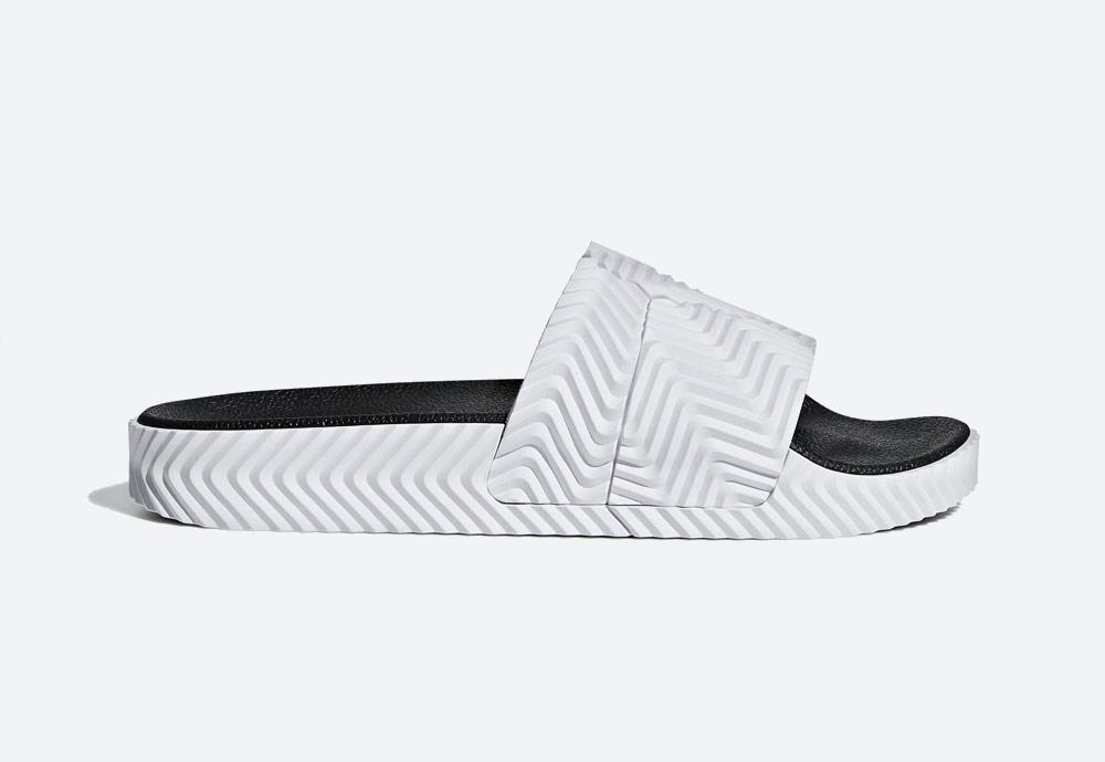 Bílé pantofle adidas Originals Adilette by Alexander Wang — dámské/pánské