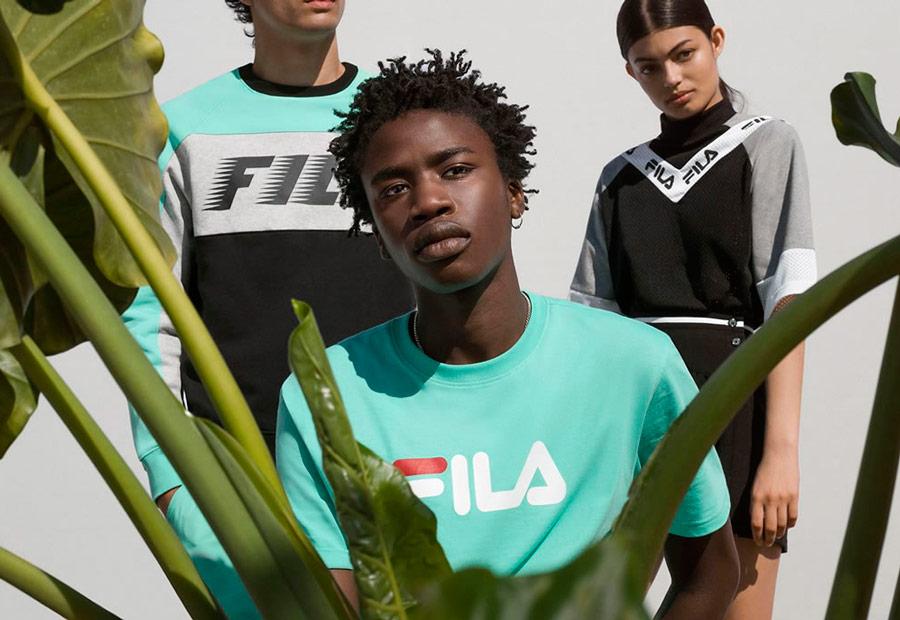 Fila — lookbook — jaro/léto 2018 — sportovní oblečení