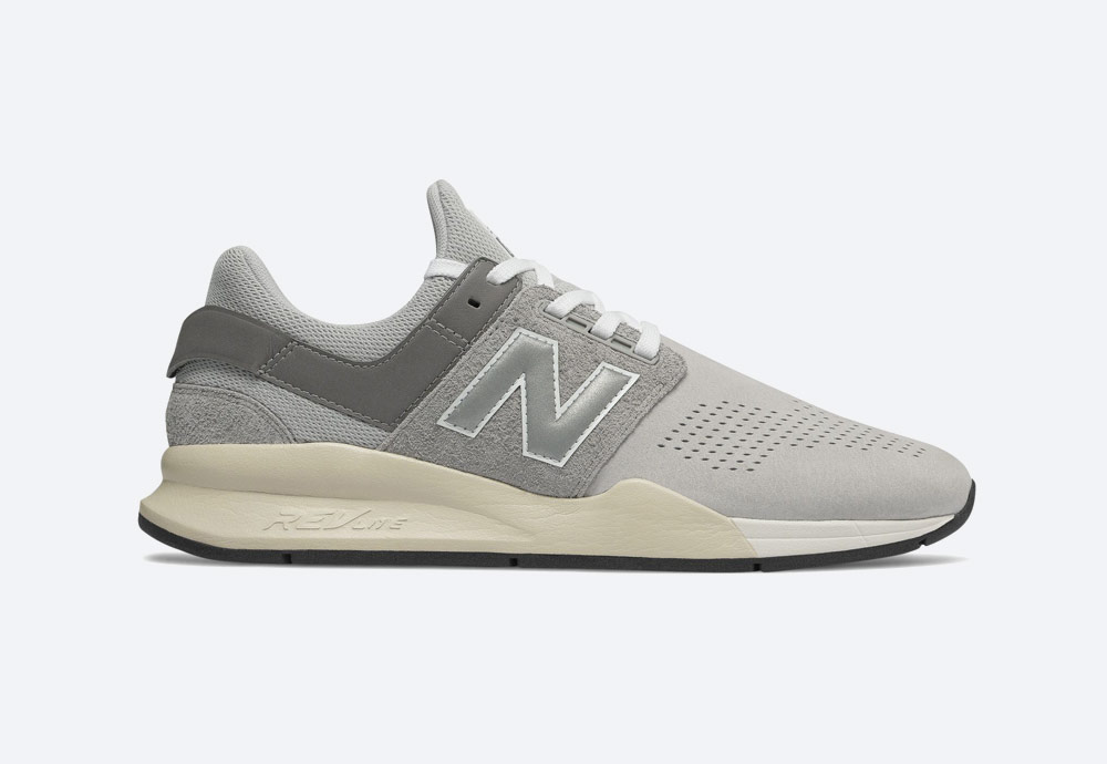 New Balance 247 — boty — tenisky — sneakers — šedé — pánské