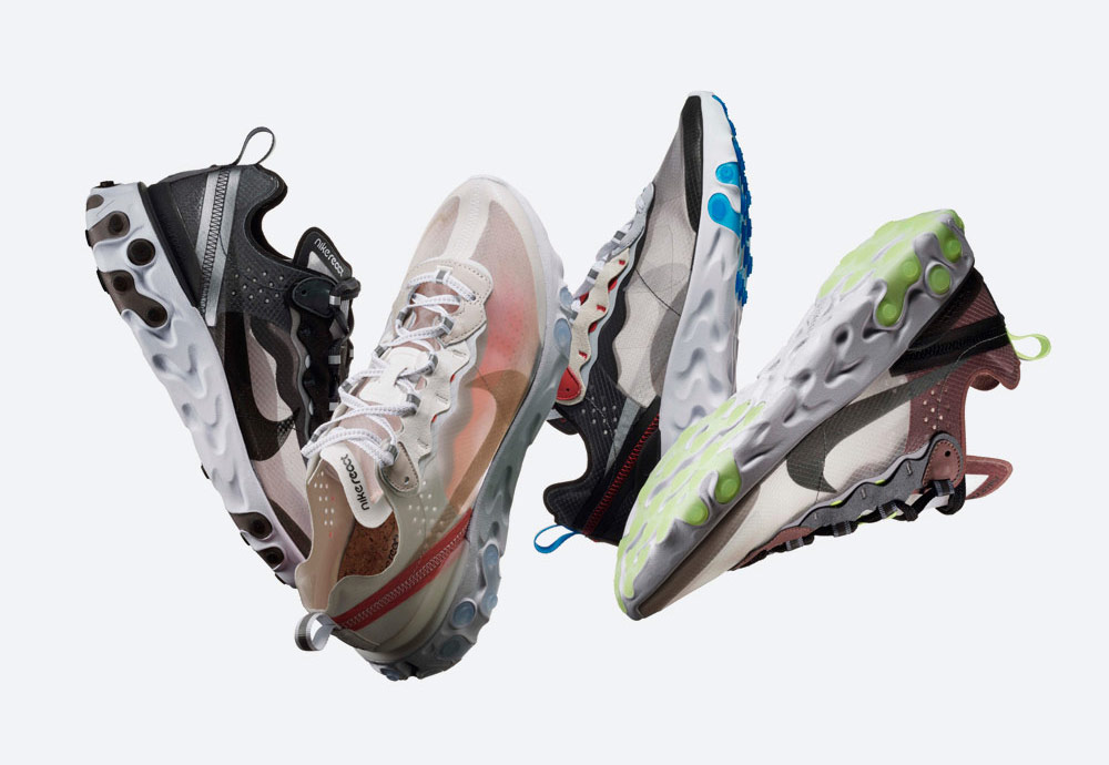 Boty Nike React Element 87
