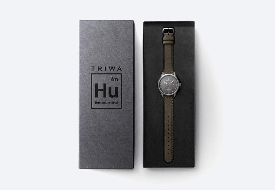 Triwa x Humanium Metal — hodinky — náramkové — pánské — dámské