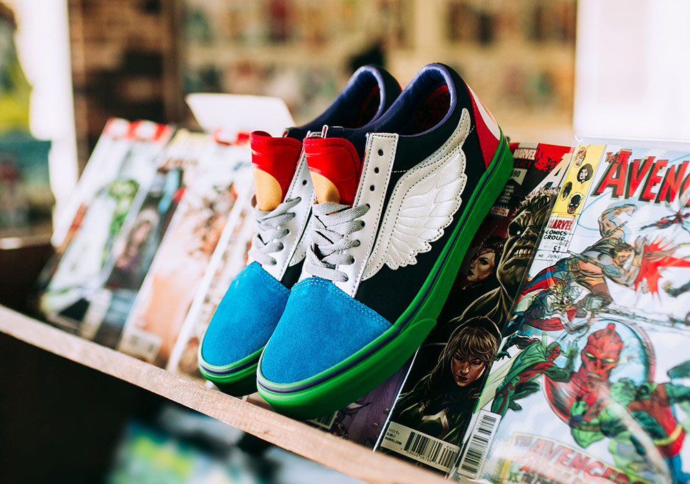 4e6d7f97b8c Vans x Marvel — kolekce bot s motivy superhrdinů