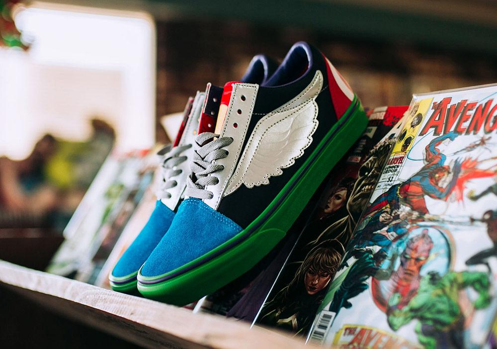 Vans x Marvel — Avengers — Vans Old Skool — boty — tenisky — pánské, dámské — sneakers