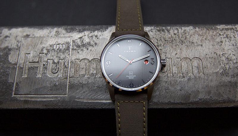 Triwa x Humanium Metal — hodinky — náramkové — dámské — pánské