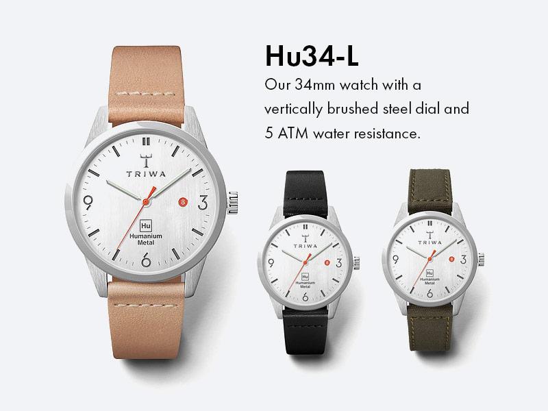 Triwa x Humanium Metal — náramkové hodinky — pánské — dámské