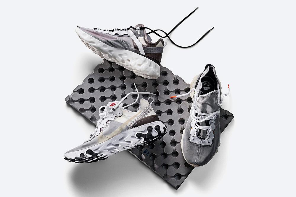Nike React Element 87 — boty — tenisky — sneakers — pánské, dámské