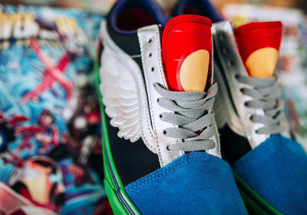 Vans x Marvel — Avengers — Vans Old Skool — boty — nízké tenisky — pánské, dámské — sneakers