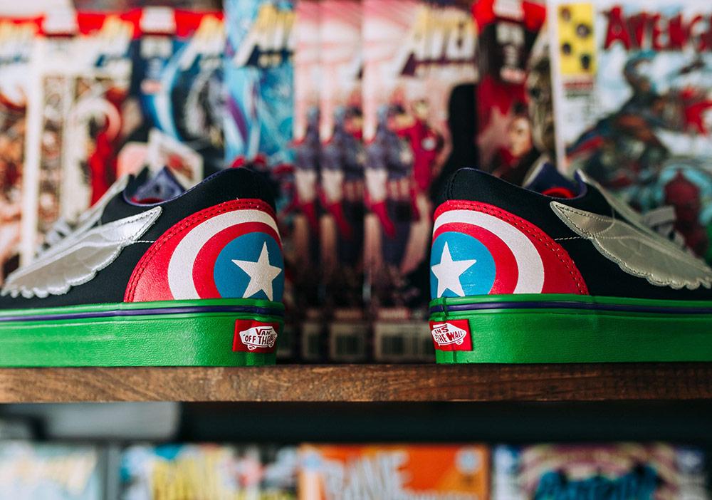 Vans x Marvel — Avengers — Vans Old Skool — tenisky — boty — pánské, dámské — sneakers