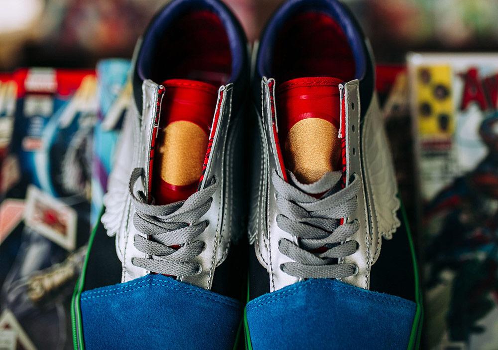 Vans x Marvel — Avengers — Vans Old Skool — boty — barevné tenisky — pánské, dámské — sneakers