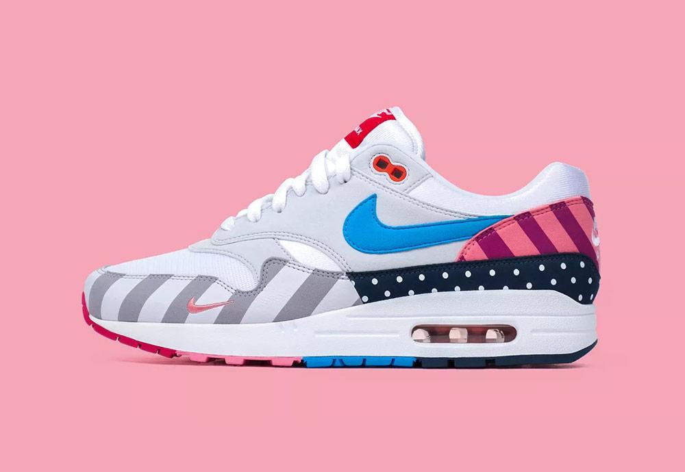 Nike x Parra — 2018 — boty a oblečení