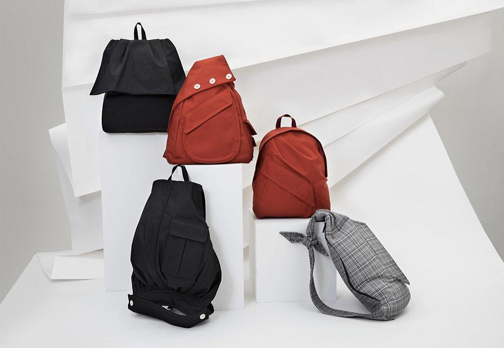 Eastpak x Raf Simons VII — batohy — urban haute couture backpacks