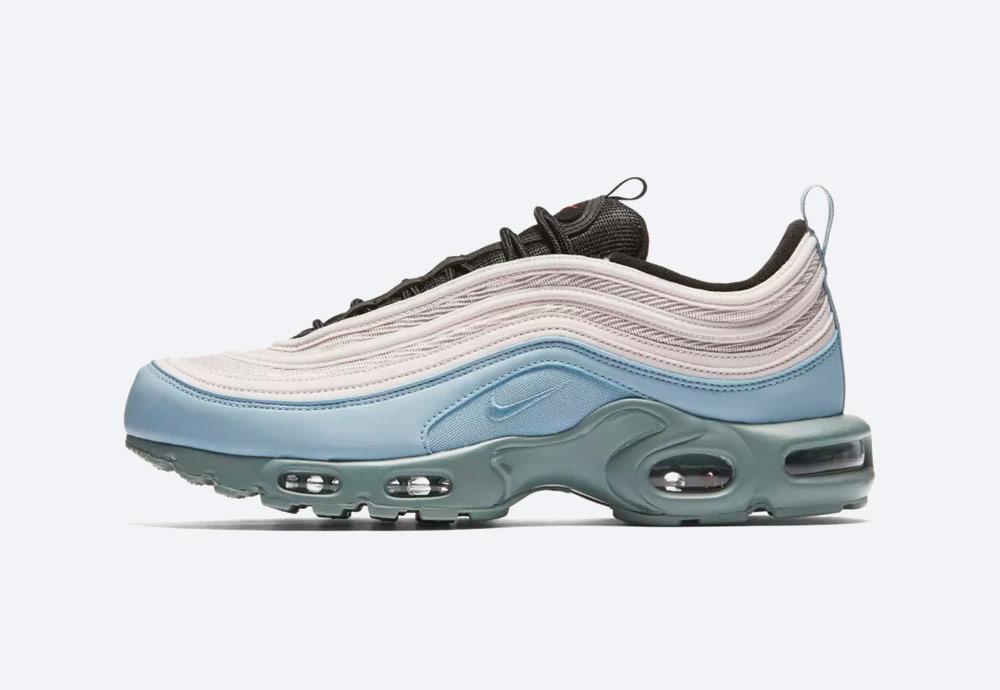 Nike Air Max Plus/97 — boty — tenisky — zelené,modré, béžové — sneakers — pánské, dámské
