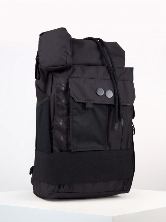 Pinqponq — batoh — Blok Medium Safari Black — černý — Maxgear Edition