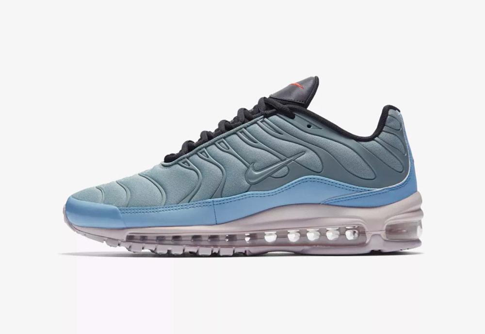 Nike Air Max Plus/97 — boty — tenisky — zelené,modré — sneakers — pánské, dámské