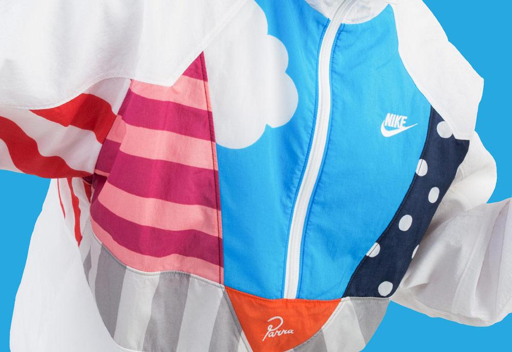 Nike Parra Tracksuit — šusťáková sportovní bunda