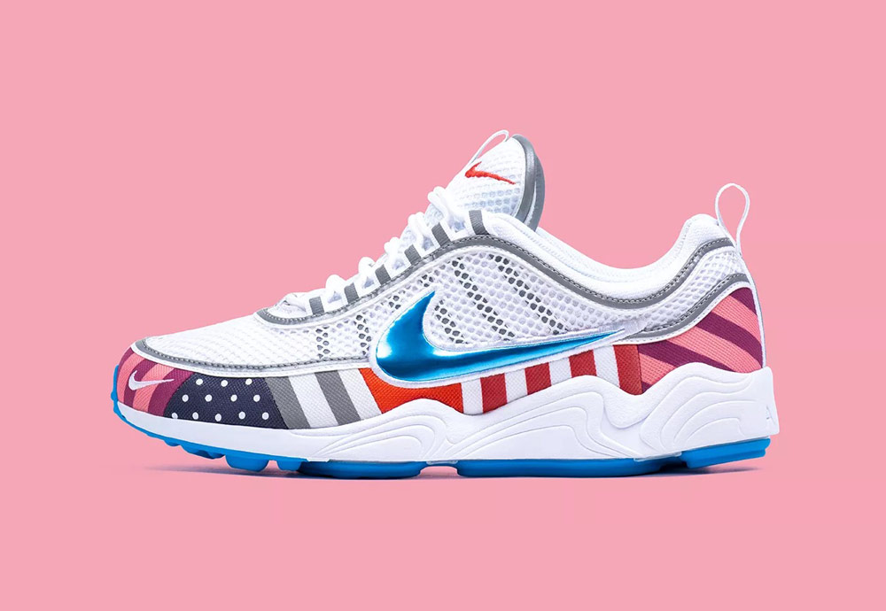 Nike Air Zoom Spiridon Parra — barevné boty — tenisky — sneakers — dámské, pánské