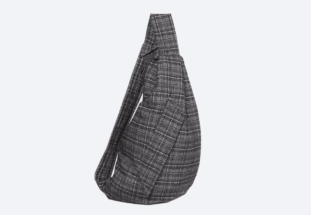 Eastpak x Raf Simons VII — batoh — šedý — RS Sleek Sling Backpack