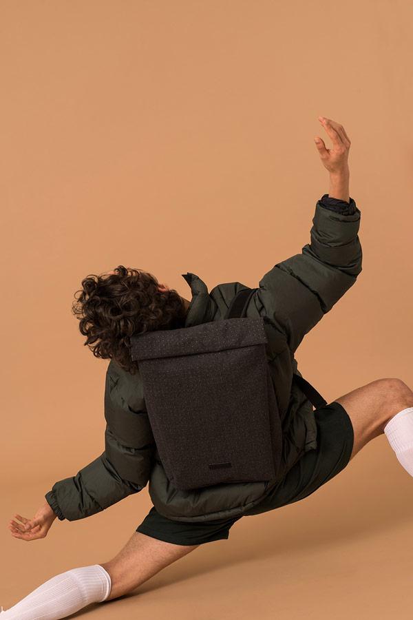Ucon Acrobatics — roll-top batoh — modrý — městský — vegan, sustainable — podzim/zima 2018