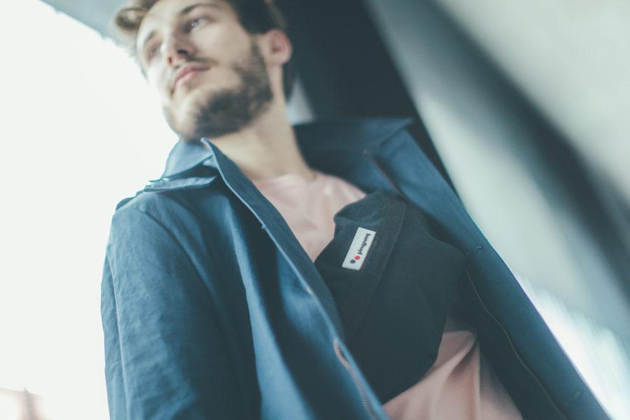 Freshlabels — udržitelná móda — sustainable — lookbook — černá ledvinka Pinqponq