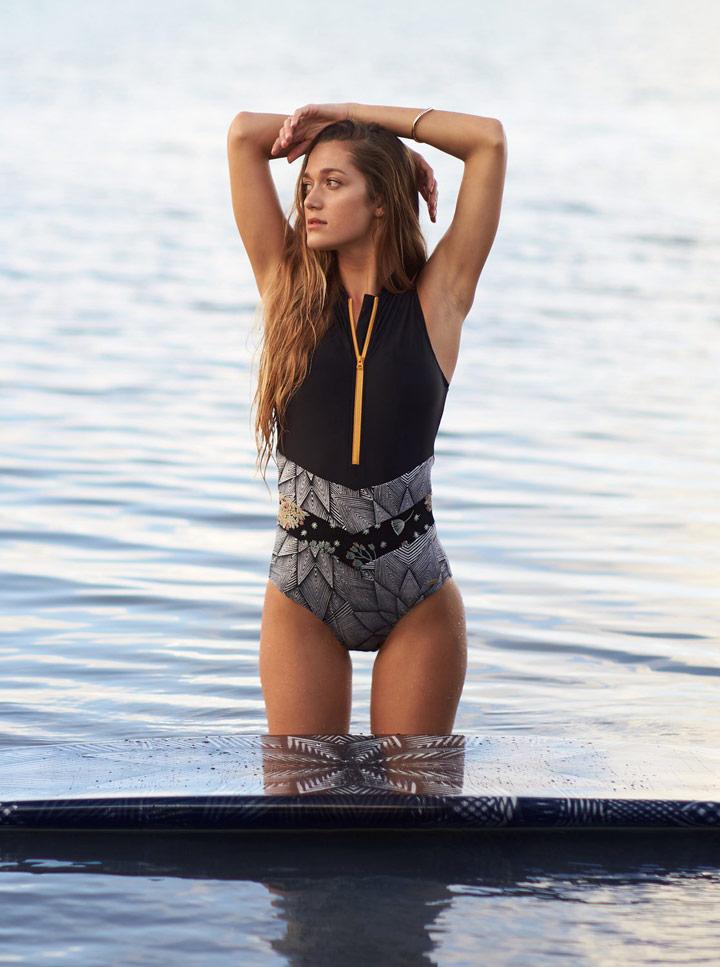 Roxy Pop Surf — dámské plavky — jednodílné — look — léto 2018