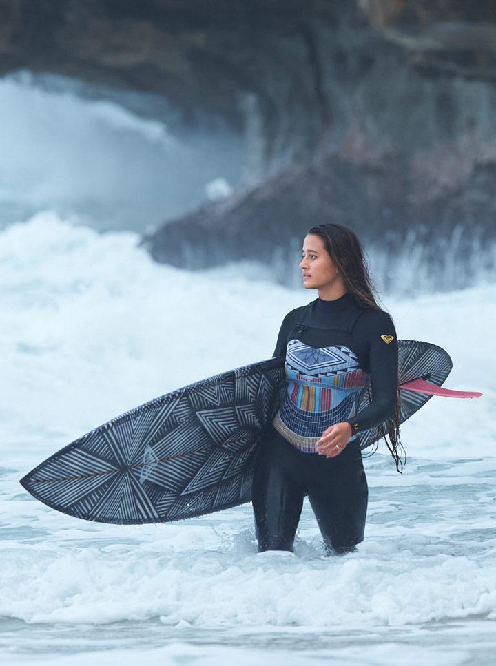 Roxy Pop Surf — surfařská kombinéza — dámská — look — léto 2018
