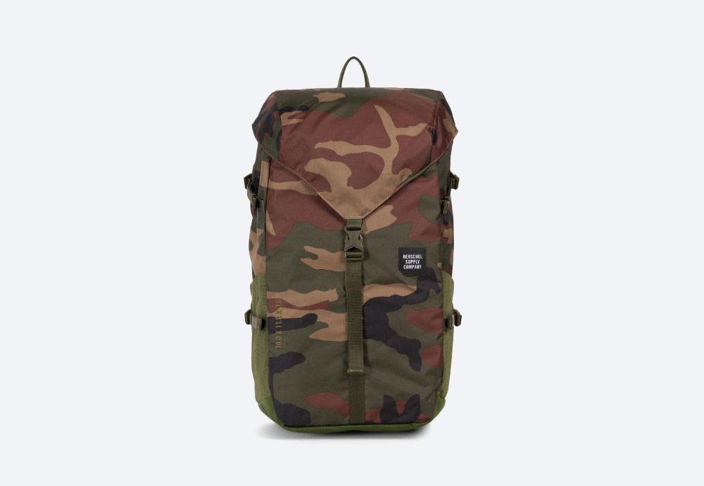 Herschel Supply — batoh — outdoor — městský — maskáčový — Barlow Backpack Large — kolekce Trail