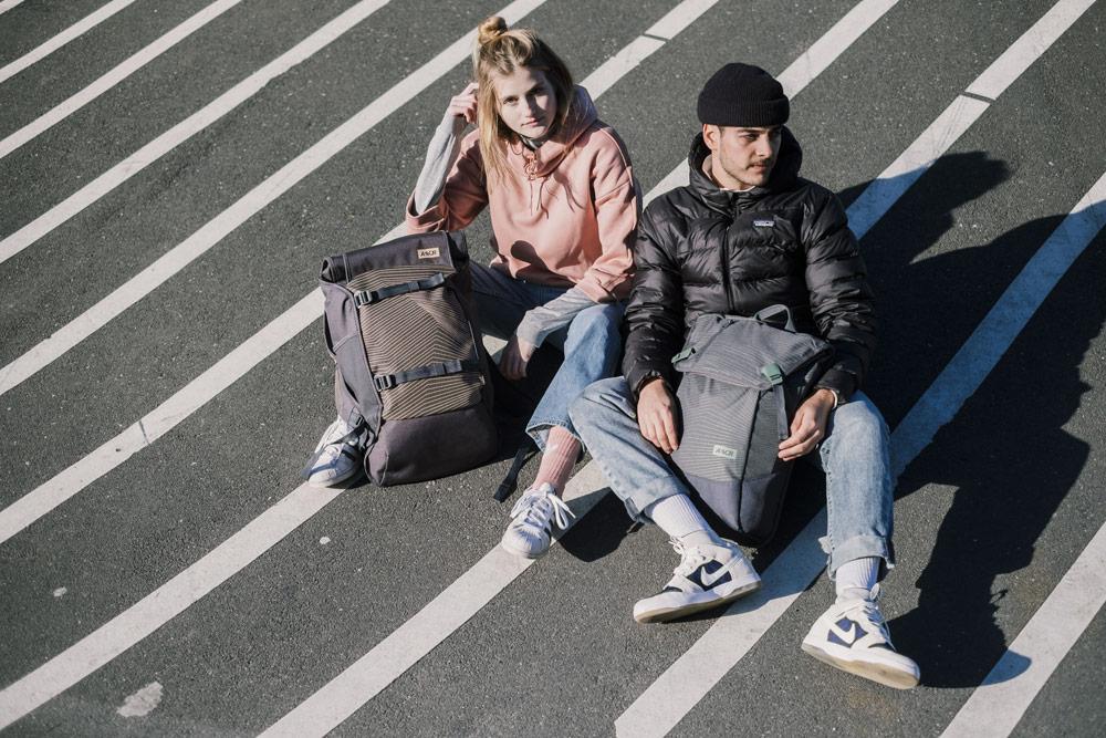 Aevor — batohy — městské, školní — recyklované z PET lahví — lookbook podzim/zima 2018