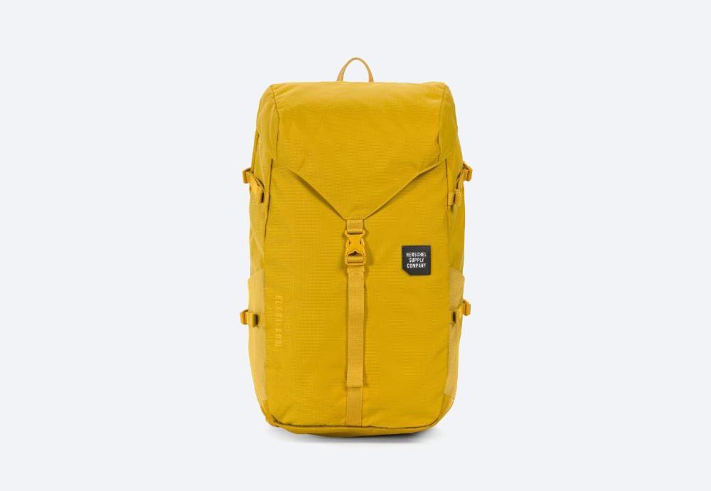 Herschel Supply — batoh — outdoor — městský — žlutý — Barlow Backpack Large — kolekce Trail