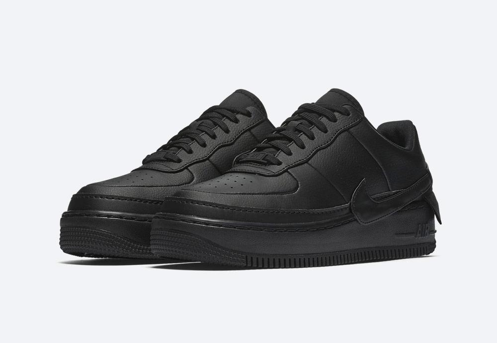 Nike Air Force 1 Jester XX — dámské sneakers — boty — tenisky — černé