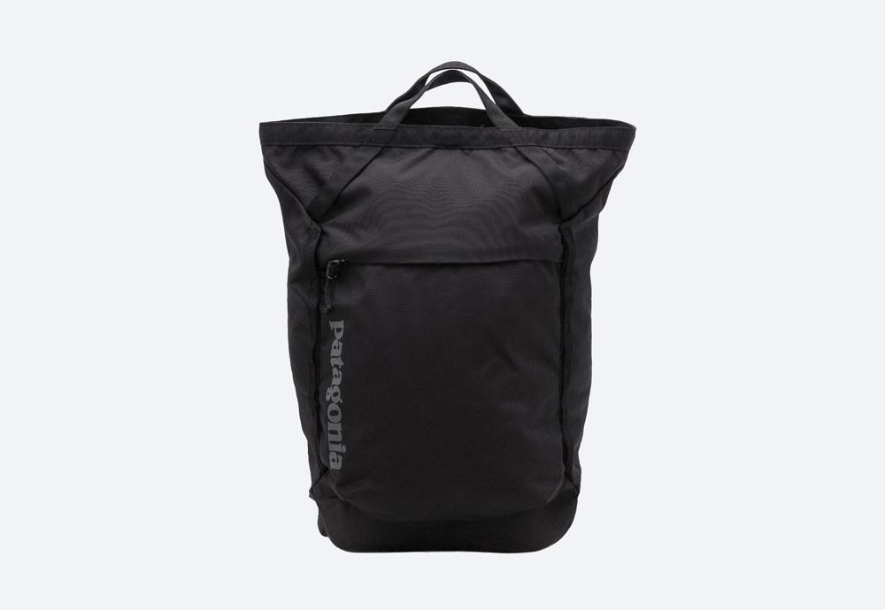 Patagonia — černý batoh — městský, outdoor, školní — nepromokavý — Linked Pack